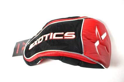 Tour Edge Exotics Driver Headcover Head Cover Red Black W/ Zipper