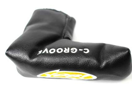 Yes Putter Headcover Black Yellow Magnetic Clasp Putter Headcover Head Cover Golf