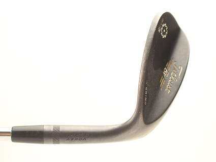 Titleist Vokey SM5 Raw Black Wedge Lob LW 60* 11 Deg Bounce K Grind Stock Steel Shaft Steel Wedge Flex Right Handed 35 in