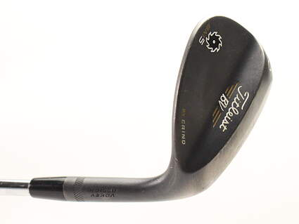 Titleist Vokey SM5 Raw Black Wedge Lob LW 60* Titleist SM5 BV Steel Wedge Flex Right Handed 35 in