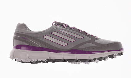 New Womens Golf Shoe Adidas Adizero Sport III Medium 8 Gray MSRP $80
