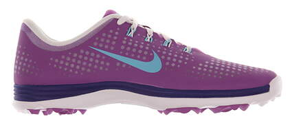 New Womens Golf Shoe Nike Lunar Empress Medium 9.5 Purple MSRP $100