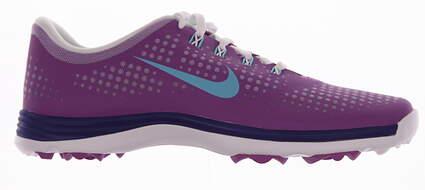 New Womens Golf Shoes Nike Lunar Empress Medium 9 Purple MSRP $100