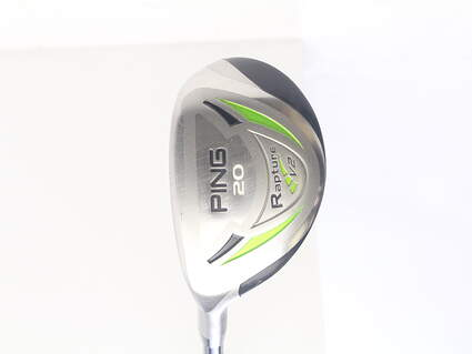 Ping Rapture V2 Hybrid 3 Hybrid 20* Ping TFC 939H Graphite Regular Left Handed 39.5 in