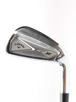 Callaway X Forged Single Iron 7 Iron Project X Pxi 6.0 Graphite Stiff Right Handed 37 in