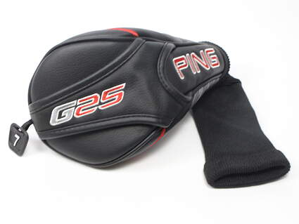 Ping G25 7 Fairway Wood Headcover Black/Red/Gray