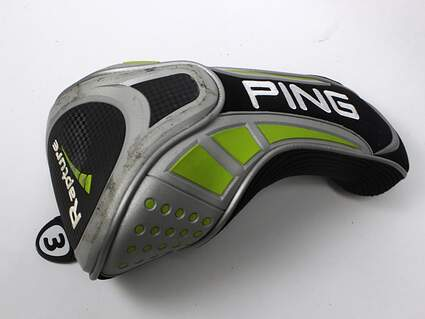 Ping Rapture Fairway 3 Wood Headcover Golf HC Black Green and Silver