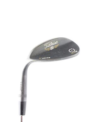 Titleist Vokey SM5 Raw Black Wedge Lob LW 58* 8 Deg Bounce Titleist SM5 BV Steel Wedge Flex Left Handed 35 in