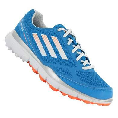 New Womens Golf Shoe Adidas Adizero Sport Medium 8 Blue MSRP $120