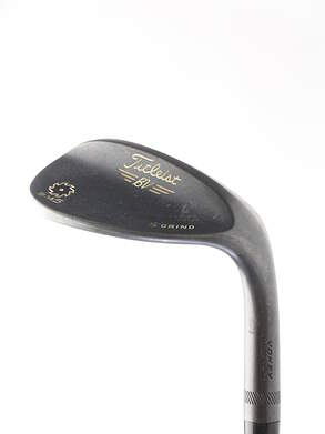 Titleist Vokey SM5 Raw Black Wedge Lob LW 60* 7 Deg Bounce Titleist SM5 BV Steel Wedge Flex Right Handed 35 in S GRIND