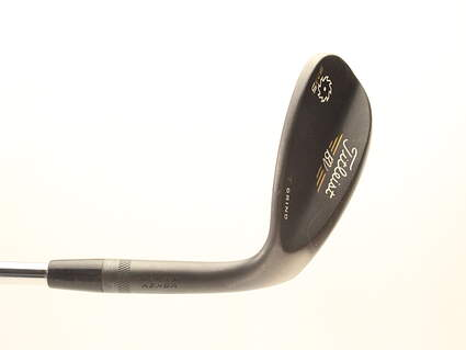 Titleist Vokey SM5 Raw Black Wedge Lob LW 62* 8 Deg Bounce Titleist SM5 BV Steel Wedge Flex Right Handed 35 in T GRIND