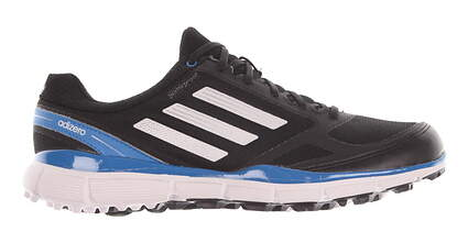 New Mens Golf Shoes Adidas Adizero Sport II Medium 8 Black Q46862 MSRP $120