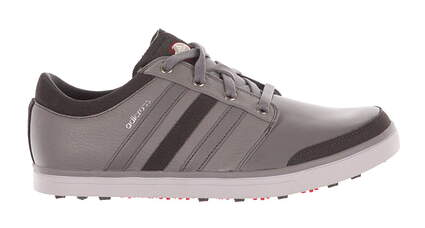 New Mens Golf Shoe Adidas Adicross Gripmore Medium 9.5 Gray MSRP $140 Q47005