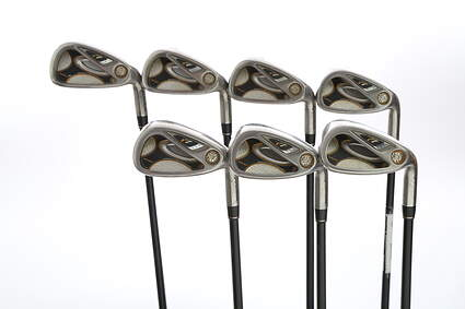 TaylorMade R7 Draw Iron Set 5-PW GW TM Reax 55 Graphite Regular Right Handed 38.25 in