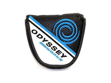 Odyssey Works Versa Mallet Putter Headcover Blue/Black/Silver