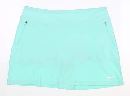 New Womens Nike Golf Skirt Size Large L Mint MSRP $75