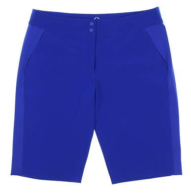 New Womens EP Pro Sport Chromatic Golf Shorts Size 10 Brilliant Blue MSRP $93 9108SEA