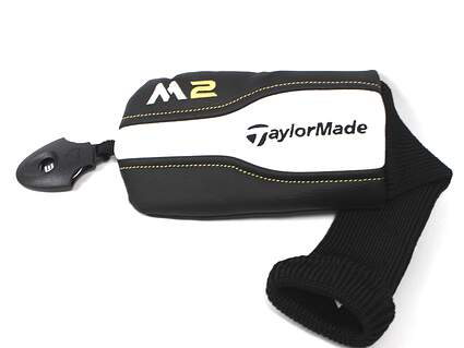 TaylorMade 2016 M2 Hybrid Headcover Black/White/Gold