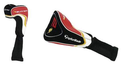 TaylorMade 2009 Burner Driver Headcover HC Head Cover Black Red