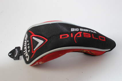 Callaway Big Bertha Diablo Hybrid Headcover Head Cover Golf