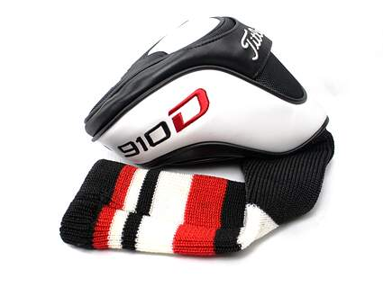 Titleist 910 D2 D3 Driver Headcover White/Red/Black