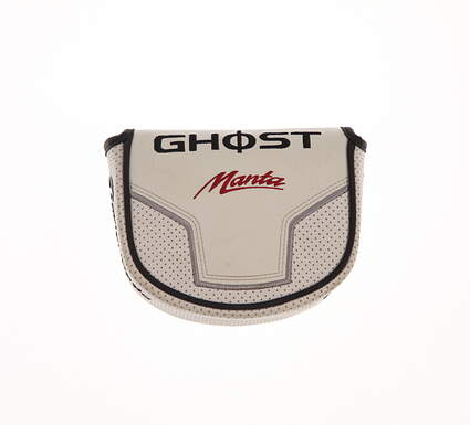 TaylorMade Ghost Manta Center Shaft Mallet Putter Headcover White/Black/Red