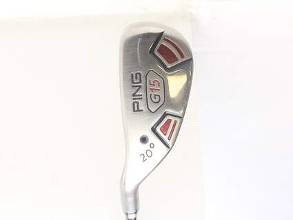 Ping G15 Hybrid 3 Hybrid 20* Ping TFC 149H Graphite Regular Left Handed 39.5 in