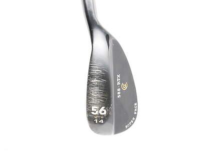 Cleveland 588 RTX Black Pearl Wedge Sand SW 56* 14 Deg Bounce True Temper Dynamic Gold Steel Wedge Flex Right Handed 35.25 in