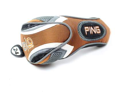Ping G10 24° 4 Hybrid Headcover Tag Orange/Grey/Black