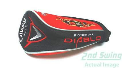 Callaway 2009 Big Bertha Diablo Fairway Wood Headcover Red/Black/White