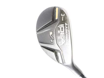 Adams Idea Tech V3 Hybrid 3 Hybrid Adams Mitsubishi Bassara 65 Graphite Stiff Right Handed 41.5 in