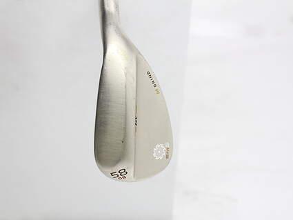 Titleist Vokey SM5 Gold Nickel Wedge Lob LW 58* 8 Deg Bounce M Grind Titleist SM5 BV Steel Wedge Flex Right Handed 35 in