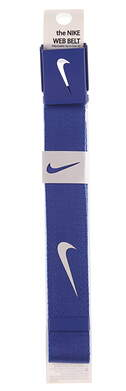 New Mens Nike Golf Web Belt Blue One Size Fits Most