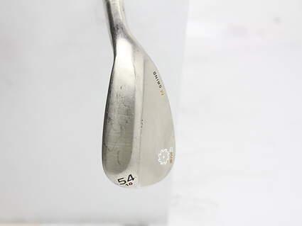 Titleist Vokey SM5 Gold Nickel Wedge Sand SW 54* 10 Deg Bounce M Grind Titleist SM5 BV Steel Wedge Flex Right Handed 35.25 in