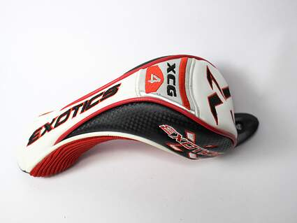 Tour Edge Exotics XCG 4 Hybrid 2 3 4 5 Tag Headcover Head Cover Golf