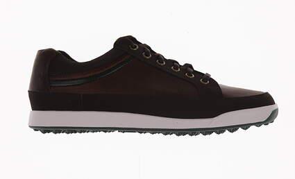 New Mens Golf Shoe Footjoy Contour Casual Medium 9 Brown MSRP $140