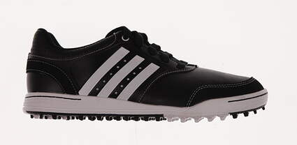 New Womens Golf Shoe Adidas Adicross III Medium 7.5 Black MSRP $100