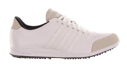 New Womens Golf Shoes Adidas Adicross Medium 9.5 White 675556 MSRP $120