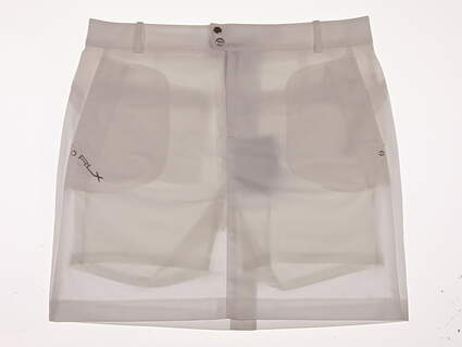 New Womens Ralph Lauren RLX Golf Skort Size 8 White MSRP $145