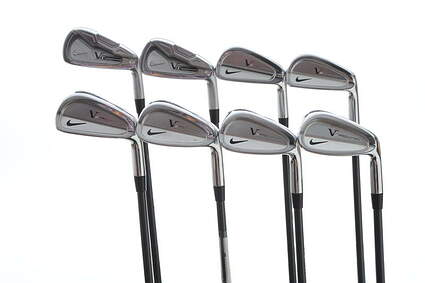 Nike Victory Red Pro Combo Iron Set 3-PW FST KBS Tour Custom Black Steel X-Stiff Right Handed 38 in