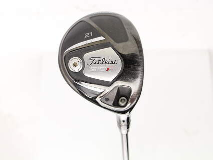 Titleist 910 F Fairway Wood 7 Wood 7W 21* Mercury Peformance Graphite Ladies Right Handed 38 in