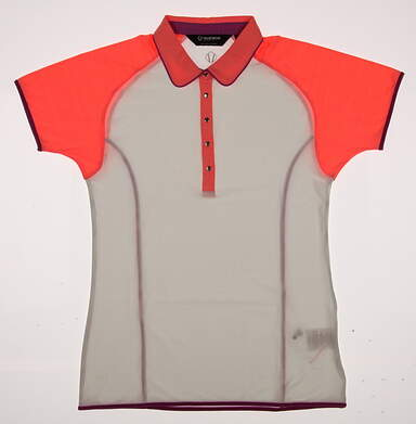 New W/O Tags Womens SUNICE Golf Polo Small S Multi MSRP $40