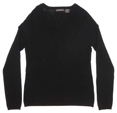 New Womens Aur Golf Sweater X-Large XL Black MSRP $60