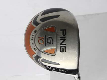 Ping G10 Draw Driver 10.5* Ping TFC 129D Graphite Stiff Right Handed 45.75 in