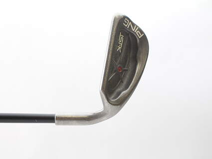 Ping ISI K Wedge Sand SW Stock Graphite Shaft Graphite Ladies Right Handed Red dot 35.5 in