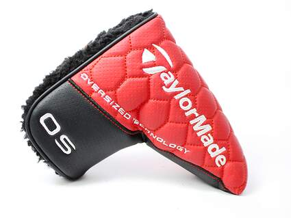 New 2016 TaylorMade OS Spider Red Black Blade Putter Headcover Head Cover Golf