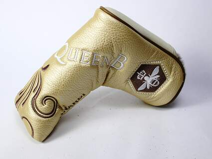 Bettinardi Queen B 1 Gold Blade Putter Headcover Head Cover Golf