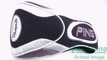 Ping Rhapsody 2007 Driver Purple White Black Headcover Head Cover Golf