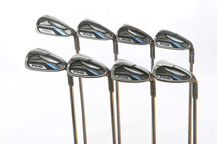 Ping G30 Iron Set 4-PW SW Ping CFS Distance Steel Stiff Right Handed Blue Dot 38.5 in