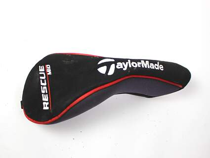 TaylorMade Rescue Mid Hybrid Black Red Headcover Head Cover Golf